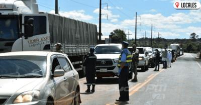 En Itapúa ordenan levantar barreras sanitarias