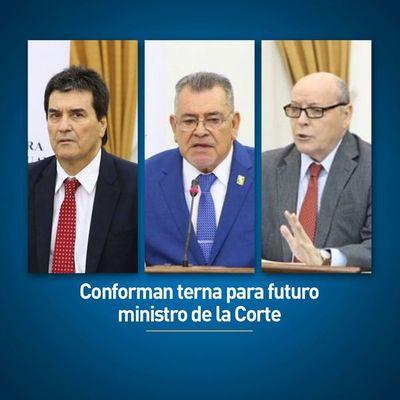 Senadores analizarán mañana la elección del nuevo ministro de la Corte