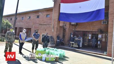 OFRECIERON MERIENDA A 500 PERSONAS DE ENCARNACIÓN Y CAMBYRETA