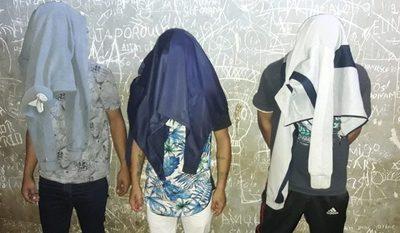 Detienen a tres delincuentes  y recuperan objetos robados – Diario TNPRESS