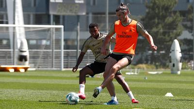 Real Madrid amplía trabajos con la pelota