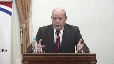 Senado designa a César Diesel para ocupar vacancia en la Corte