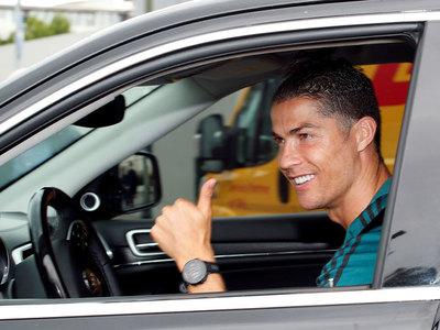 Tras una larga cuarentena, Cristiano vuelve a entrenar en Juventus