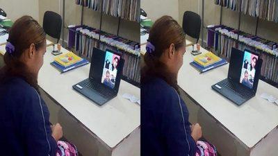 Mujer discapacitada se comunicó con su familia por videollamada desde penitenciaría