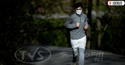 Si vas a salir a correr no utilices tapaboca