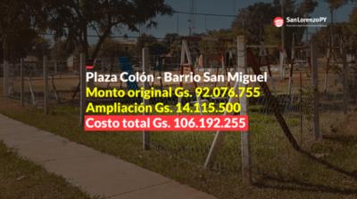 Otra tragada. ¡Cobraron por una columna más de 20 millones de guaraníes!