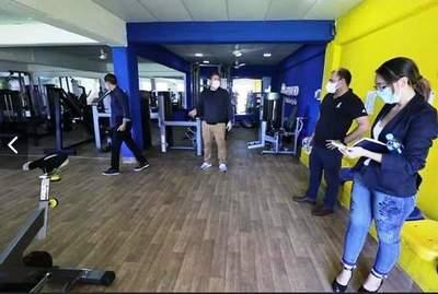 APF inspecciona estadios de Luqueño y Gral. Díaz • Luque Noticias