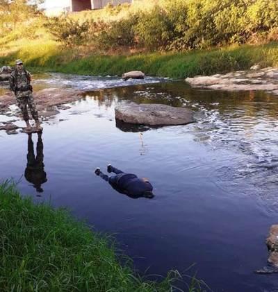 Hallan un cadáver en el arroyo Itay • Luque Noticias