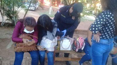 Cinco mujeres que volvieron del Brasil fueron detenidas