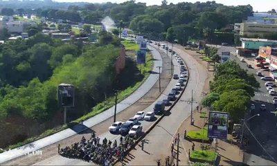 Inicia movilización de brasileños