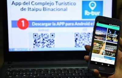 Itaipú desarrolla app para cuando se retomen las visitas al complejo turístico