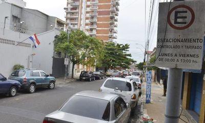 Replantean estacionamiento tarifado en Asunción
