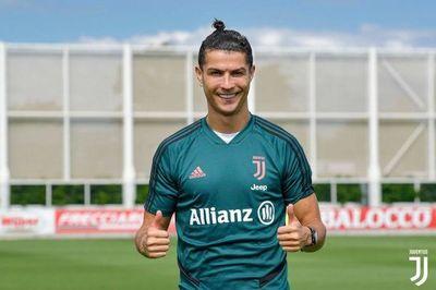 Cristiano vuelve a entrenar con Juventus