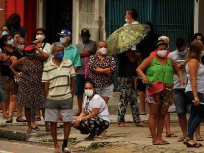 El ministro de Economía de Brasil teme colapso por el aislamiento