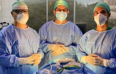 Realizan la primera cirugía de epilepsia a bebé de 10 meses que padecía 70 crisis al día