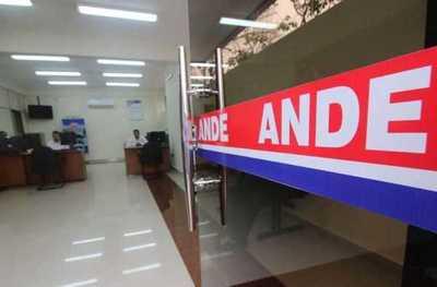 ANDE no hará cortes por falta de pago hasta el 30 de junio