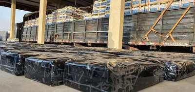 Detectan Marihuana en una carga de bananas con destino a Argentina