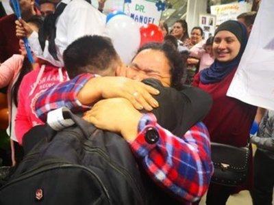 Repatriados volvieron a casa