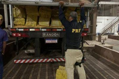Policía Brasileña incauta la mayor carga de marihuana del Brasil