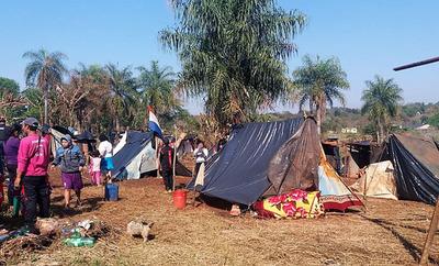 INVASIONES en SERIE a PROPIEDADES PRIVADAS en Alto Paraná