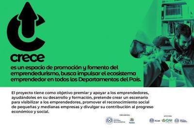 """Presentan proyecto """"Crece"""" para potenciar y visibilizar a los jóvenes del país"""
