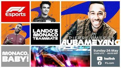 Courtois y Aubameyang, en G.P. Mónaco virtual