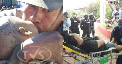 """Policía """"héroe de Ycuá Bolaños"""" es herido en procedimiento"""