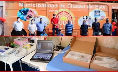 Municipalidad adquiere clínica móvil para brindar atención primaria