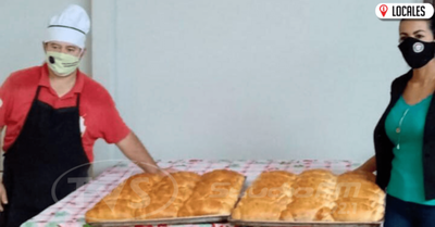 SNPP respalda a trabajadores gastronómicos que elaboran panes para subsistir
