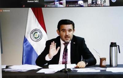 """Senado aprueba """"voto censura"""" contra Eduardo Petta"""