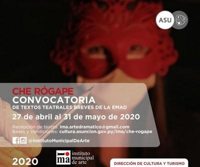 IMA amplió plazo para presentación de textos teatrales sobre la pandemia