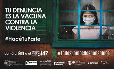 Campaña contra el abuso hacia los menores de edad toma fuerza en el escenario del encierro por COVID-19