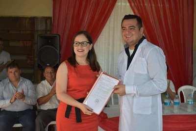 Villalba asume la dirección del Centro de Salud