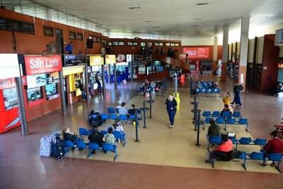 CDE: Terminal de Ómnibus opera desde esta semana con estrictas medidas sanitarias