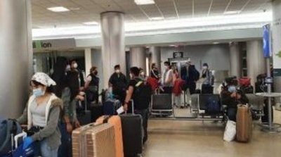Llegan 159 compatriotas de Chile y van a guardar cuarentena en albergues