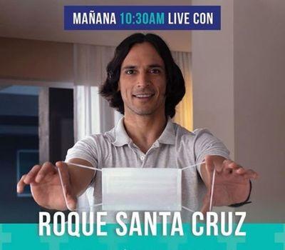 Roque Santa Cruz invita a conocer su fábrica de productos sanitarios