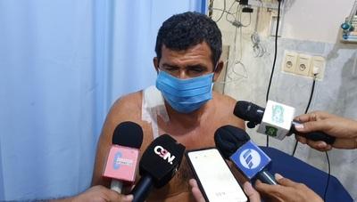 Herida de balanfue accidental en persecución policial