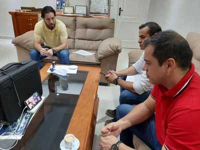 CDE y Foz de Yguazú acuerdan crear un comité para enfrentar al Covid-19