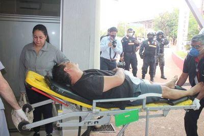 Detienen a violento sujeto que apuñaló a un comisario
