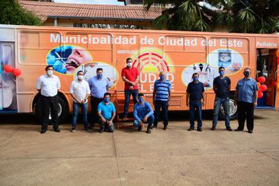 Clínica Móvil llega para brindar atención primaria de Salud en los barrios de CDE – Diario TNPRESS