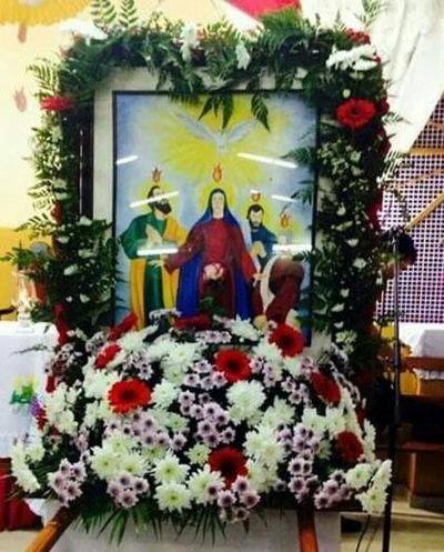 Hoy se inicia novenario en la Cuasi Parroquia Espíritu Santo