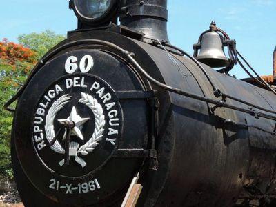 La locomotora 60 está lista para rememorar los viajes a Ypacaraí