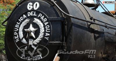 Tren del Lago: La locomotora 60 está lista para rememorar los viajes a Ypacaraí