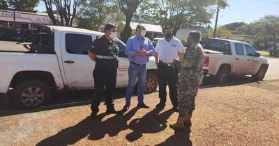Refuerzan controles en la línea fronteriza de Pedro Juan Caballero