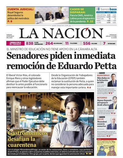Edición impresa, 23 de mayo del 2020
