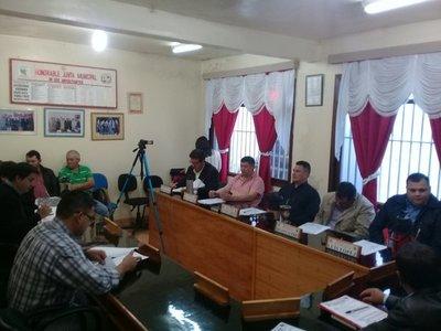 Junta Municipal informó sobre entrega de leche en Centro de Salud