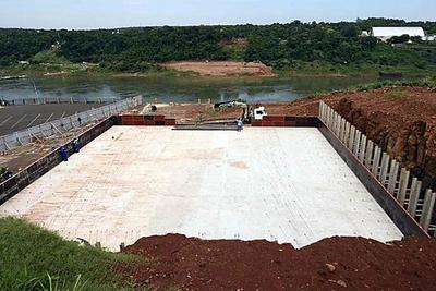 Del lado brasileño: Puente de la Integración va tomando forma