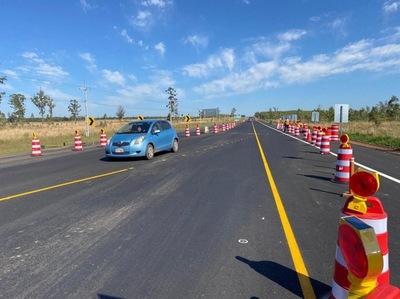Anuncian desvío de tráfico en Caaguazú y San José de los Arroyos