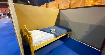 Cerca de 15 personas pasaron la noche en el refugio de la SEN