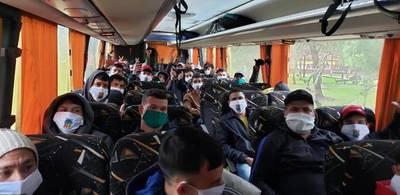 La buena noticia; 36 compatriotas dejan albergue de Misiones tras dar negativos a la prueba del COVID-19